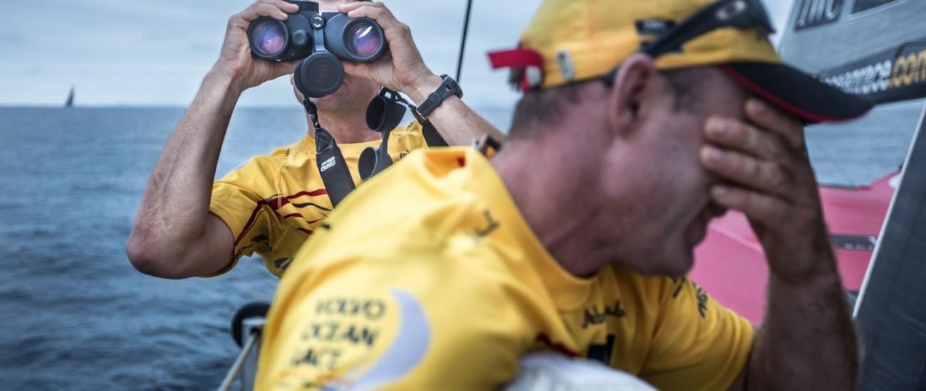2014-15, Abu Dhabi Ocean Racing, Leg6, OBR, VOR, Volvo Ocean Race, onboard, Binoculars, musto, bearing, Phil Harmer, Justin Slattery