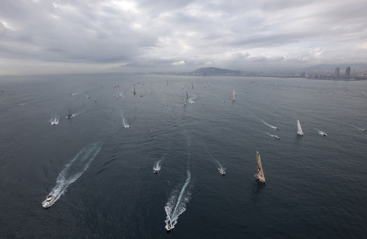 SAILING - BARCELONA WORLD RACE 2010-2011 - BARCELONA (SPA) - START
