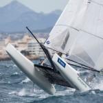 46 Trofeo S.A.R. Princesa Sofia, 46th Princesa Sofia Trophy, Jesus Renedo, Nacra 17, Nacra 17 FRA FRA-077 12 Franck CAMMAS Sophie DE TURCKHEIM, olympic sailing, sailing