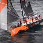 2014-15, Brazil, Itajai, Volvo Ocean Race, arrivals, aerial, Team Alvimedica