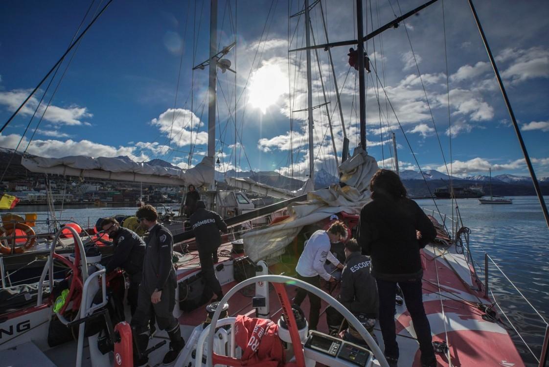 2014-15, Dongfeng Race Team, Leg5, OBR, VOR, Volvo Ocean Race, onboard, Ushuaia, preparation