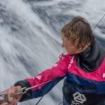 2014-15, ACTION, Abby Ehler, LEGS, Leg 6, OBR, Team SCA, VOR, Volvo Ocean Race, onboardm wake