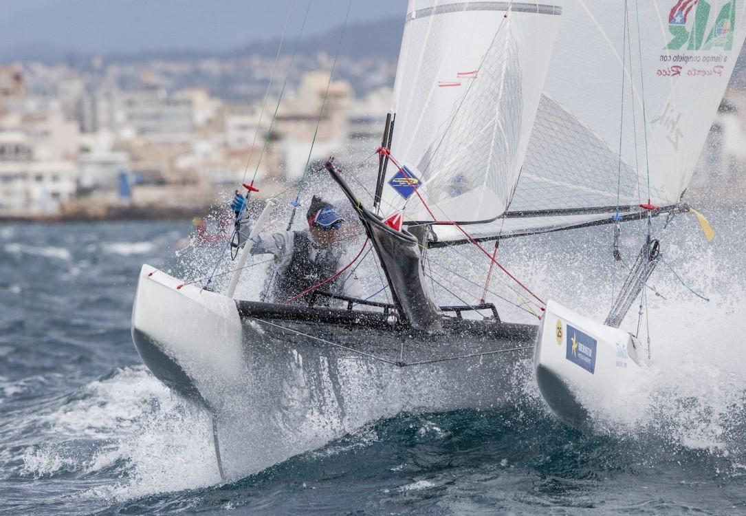 46 Trofeo S.A.R. Princesa Sofia, 46th Princesa Sofia Trophy, Jesus Renedo, Nacra 17, Nacra 17 PUR PUR-026 25 Enrique FIGUEROA Franchesca VALDÉS, olympic sailing, sailing