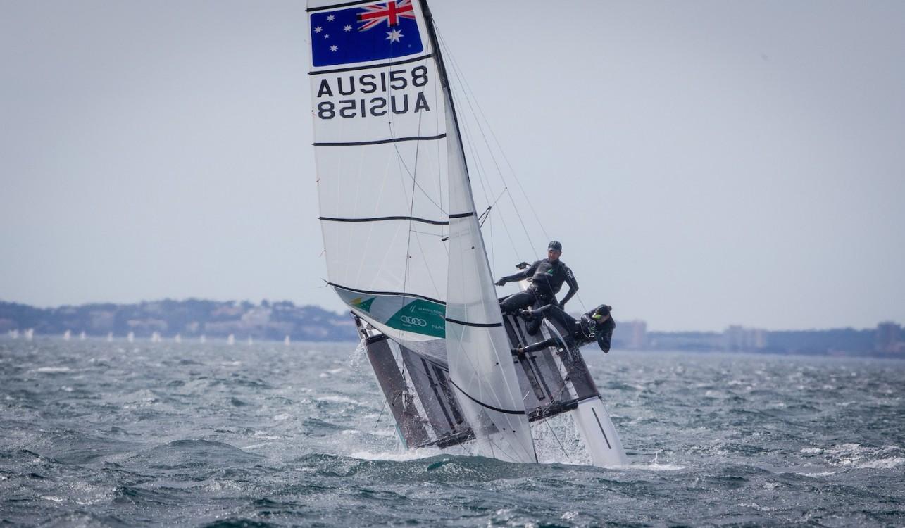 46 Trofeo S.A.R. Princesa Sofia, 46th Princesa Sofia Trophy, Jesus Renedo, Nacra 17, Nacra 17 AUS AUS-158 11 Euan Witton MCNICOL Lucinda Emma WHITTY, olympic sailing, sailing