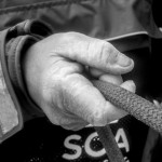 2014-15, ACTION, LEGS, Leg 6, Liz Wardley, OBR, Team SCA, VOR, Volvo Ocean Race, hands, onboard, B&W, trim
