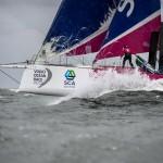 2014-15, VOR, Volvo Ocean Race, Team Alvimedica, Crowd, night, Team SCA