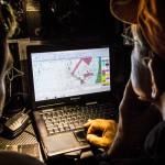 2014-15, Leg9, ONBOARD, TEAM ALVIMEDICA, VOR, Volvo Ocean Race, down below, Will Oxley, Charlie Enright, nav, navigation desk