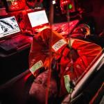 2014-15, Leg9, Onboard, VOR, Volvo Ocean Race, Team Alvimedica, Will Oxley, down below, sleep, life on board, Navigation desk