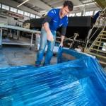 Volvo Ocean Race, VOR, 2014-15, VO65, Persico, Italy, shipyard, Team Vestas Wind, Neil Cox, Coxy, rebuild, Bergamo