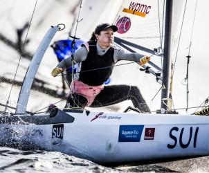 Nacra 17, SUI - Switzerland Matias Bühler Skipper Nathalie Brugger Crew, TEST EVENT 2015 - AQUECE RIO INTERNATIONAL REGATTA