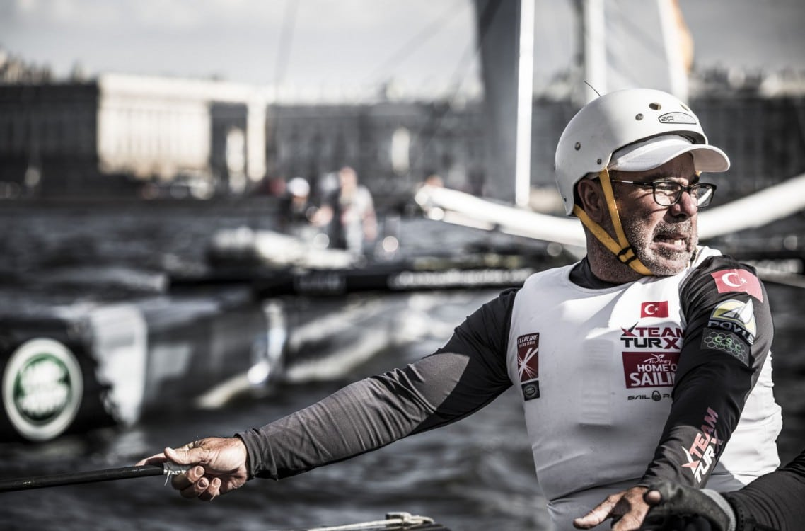 Multihull, St Petersburg, Russia, Act6, Stadium sailing, The Extreme Sailing Series