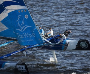 Multihull, St Petersburg, Russia, Act 6, Stadium Sailing, The Extreme Sailing Series
