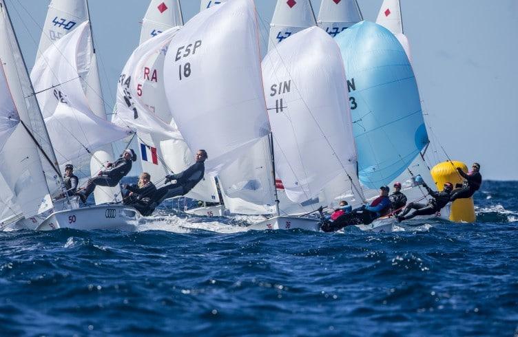 470, 470 W, 470 Women ESP ESP-18 36 Silvia Mas Depares Paula Barcelo Martin, 470 Women GER GER-95 50 Fabienne Oster Anastasiya Krasko, 470 europeans, Olympic, Sailing