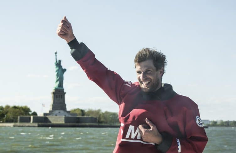 World Record, NYC, Transatlantique, transatlantic, voile, sail, amerique, etats unis, united states, imoca