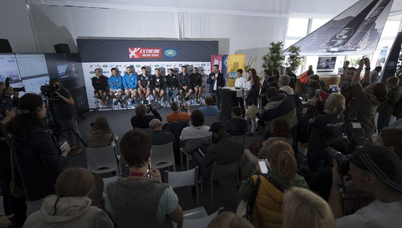 The Extreme Sailing Series 2016, St Petersburg, Russia, Multihull, Act5