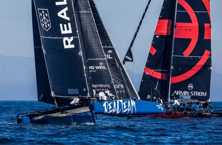 GC 32, GC 32 Racing Tour, GC 32 SOTOGRANDE, Jerome Clerc Denis Girardet Remi Aeschimann Thierry Wasem Loic Forestier, Multihull, REALTEAM, Sotogrande, catamarans, foil