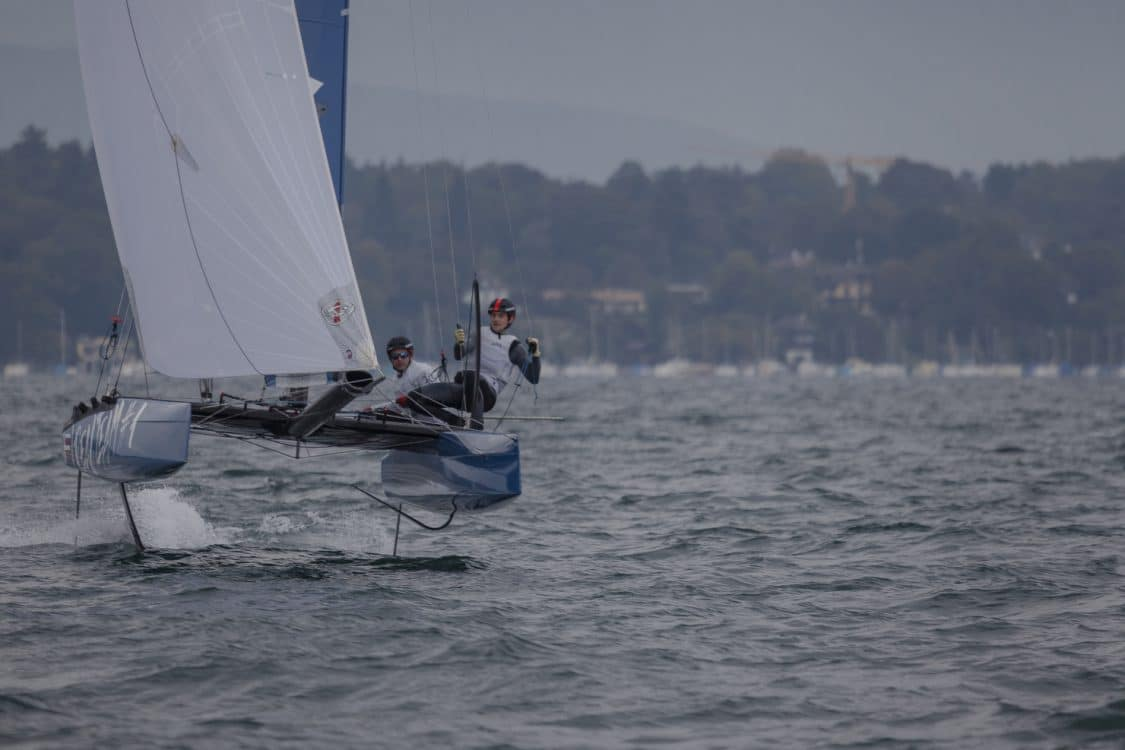 Catamaran, Flying Phantom, FP Series, Suisse, lac, Montagne, Sport, voile, Régate, Sailing, Foils, Switzerland, YCG, Lac Léman, Genève