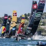Act 8, Austrailia, Catamaran, Multihull, Sydney, Sydney Harbour, Sydney Opera House, The Extreme Sailing Series 2016, Yacht Racing, foiling, sailing