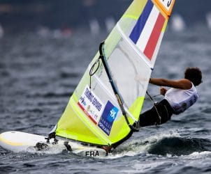 2017 World Cup Series Hyères, Classes, FRA 3 Thomas Goyard FRATG15, Olympic Sailing, Pedro Martinez, RS:X Men, Sailing Energy, World Cup Series Hyères 2017, World Sailing