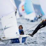 2017 World Cup Series Hyères, 470 Women, Classes, Olympic Sailing, Pedro Martinez, SUI 5 Linda Fahrni SUIFL2 Maja Siegenthaler SUISM14, Sailing Energy, World Cup Series Hyères 2017, World Sailing