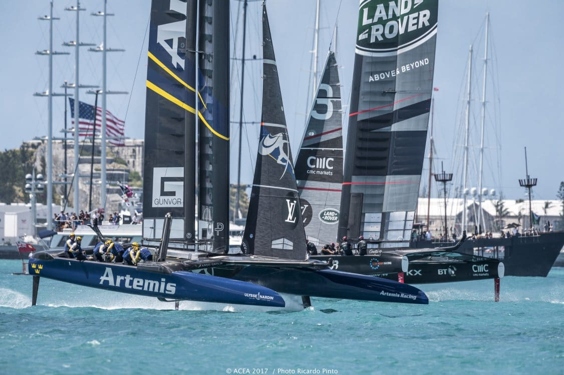 2017, 35th America's Cup Bermuda 2017, AC35, Artemis Racing, Bermuda, LRBAR, Land Rover BAR, Sailing
