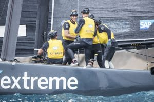 ESS, The Extreme Sailing Series 2017, Mutihull, GC32, Foiling Yacht, Sailing, Foiling, Barcelona, Spain, Yacht Racing, Day4, SAP Extreme