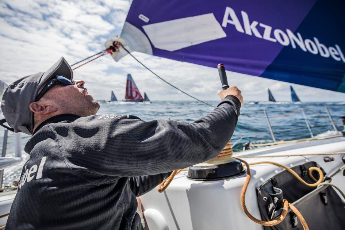 2017-18, AkzoNobel, Leg Zero, On board, On-board, Pre-race, St Malo to Lisbon