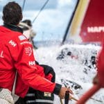2017-18, Leg Zero, MAPFRE, On board, On-board, Pre-race, Rolex Fastnet Race, Splash, Trimmer / Bowman, Willy Altadill
