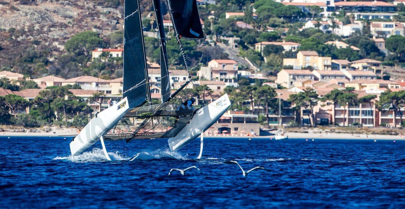 ARGO, Calvi, Corsica, Extreme sailing, Fastest boats, GC32, GC32 Orezza Corsica Cup, GC32 Racing Tour, catamaran, foiling, foiling catamaran, one design yacht, sailing, speed, yachting