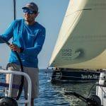 Start,Helm,Wheel,Pre-race,2017-18,AkzoNobel,on board,on-board,leg zero,Watch captain and boat performance,Joca Signori,Prologue