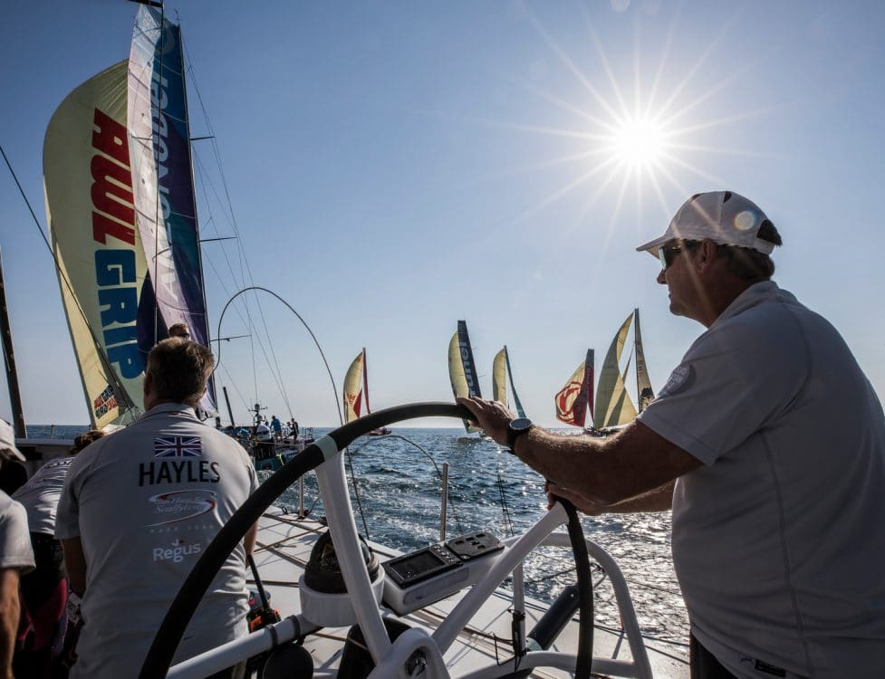 Start,Skipper,Helm,Wheel,Training,Pre-race,2017-18,on board,on-board,leg zero,Team Sun Hung Kai/Scallywag,David Witt,Prologue
