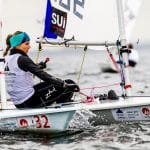 2018 World Cup Series, GAMAGORI, Japan, Laser Radial, Olympic Sailing, SUI 199846Maud Jayet (W)SUIMJ3, Sailing Energy, WC Series Gamagori, World Sailing
