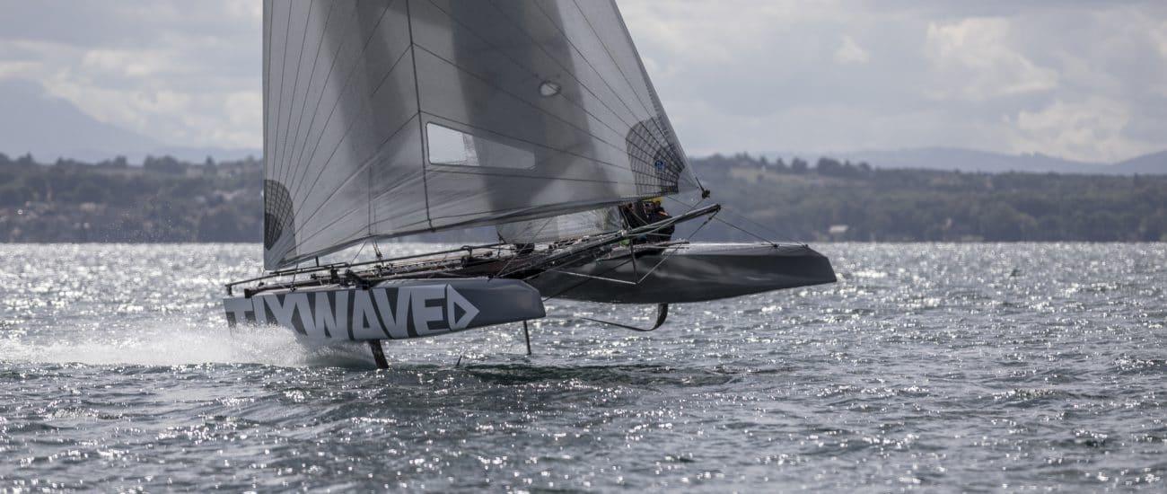 CNC, Catamaran, Club Nautique de Crans, Easy To Fly, Lac Léman, Outdoor, Regate, Regatta, Sport, Suisse, Swiss FP Series, Switzerland, Water, voile, Absolute Dreamer