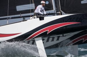 Water Sport, Sailing, The Extreme Sailing Series, ESS, Muscat, Oman, GC32, day 3