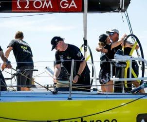 Skipper,Navigator,Leg 7,Emotion,Andrew Cape,Arrival,Celebration,2017-18,Bouwe Bekking,Crew member,Auckland-Itajaí,Team Brunel,Kind of picture, Nina Curtis