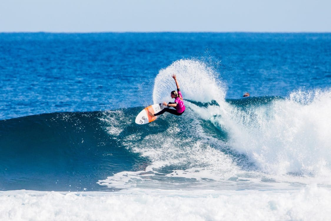 2018, 2018 Championship Tour, AUS/02, Australia, CT - M - 2018 - Margaret River Pro, Championship Tour #2, Heat 6, Keely Andrew, Margaret River, Margaret River Pro, Round two, Surfing, The World Surf League, WSL, West Australia, Western Australia, Women's, Women's CT, Women's CT #2, Women's Championship Tour, World Surf League, surf
