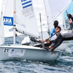 470 M, CLASSES, GRE 10 21 Vasilis Papoutsoglou (M) Ioannis Orfanos 470 Men, Olympic Sailing, Sailing Energy, World Cup Series Hyeres, World Sailing