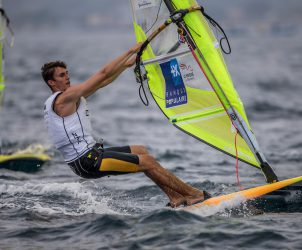 CLASSES, FRA 7 Adrien Mestre (M) RS:X Men, Olympic Sailing, RSX men, Sailing Energy, World Cup Series Hyeres, World Sailing